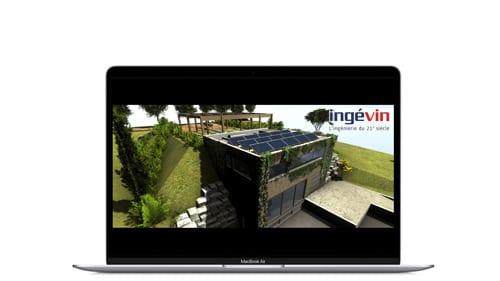 Animation 3D de présentation marketing